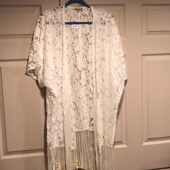 401d7651c49 Charlotte Russe Jackets   Blazers - NWT Woman s Plus Size Gorgeous Lace  Jacket Size 3X